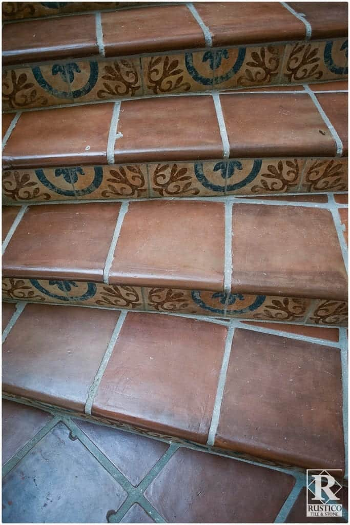 Cement Tile Stair Risers